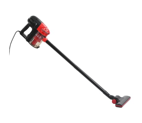 vidaXL rokas putekļsūcējs, multiciklona, 500 W, sarkans