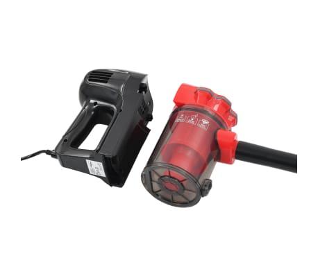 vidaXL Aspiradora de mano multiciclónica 2 en 1 rojo 500 W[5/8]