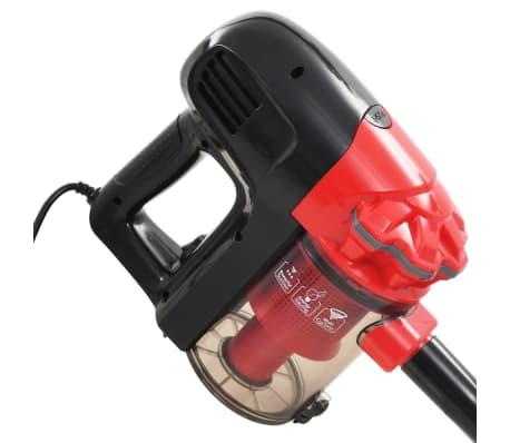 vidaXL Aspiradora de mano multiciclónica 2 en 1 rojo 500 W[6/8]