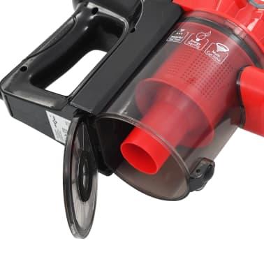 vidaXL Aspiradora de mano multiciclónica 2 en 1 rojo 500 W[4/8]