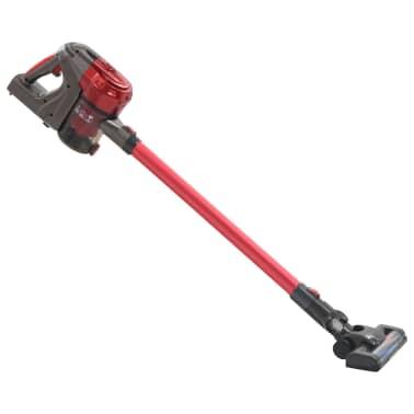 vidaXL Aspiradora de mano sin cable multiciclónica 2 en 1 rojo 120 W[1/10]