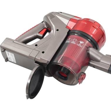 vidaXL Aspiradora de mano sin cable multiciclónica 2 en 1 rojo 120 W[6/10]