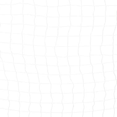vidaXL Futbolo vartai, juodos ir baltos sp., 300x160x90 cm, metalas[5/5]