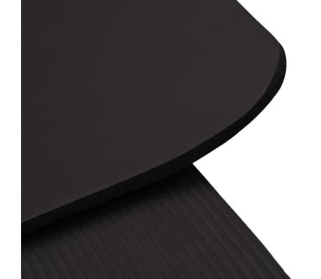 vidaXL Yogamat 100x190 cm EVA zwart[5/5]