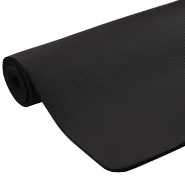 vidaXL Yogamat 100x190 cm EVA zwart[4/5]