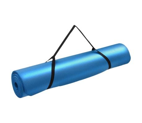 vidaXL Mata do jogi, 100 x 190 cm, EVA, niebieska[1/5]