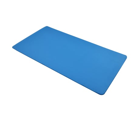 vidaXL Mata do jogi, 100 x 190 cm, EVA, niebieska[3/5]