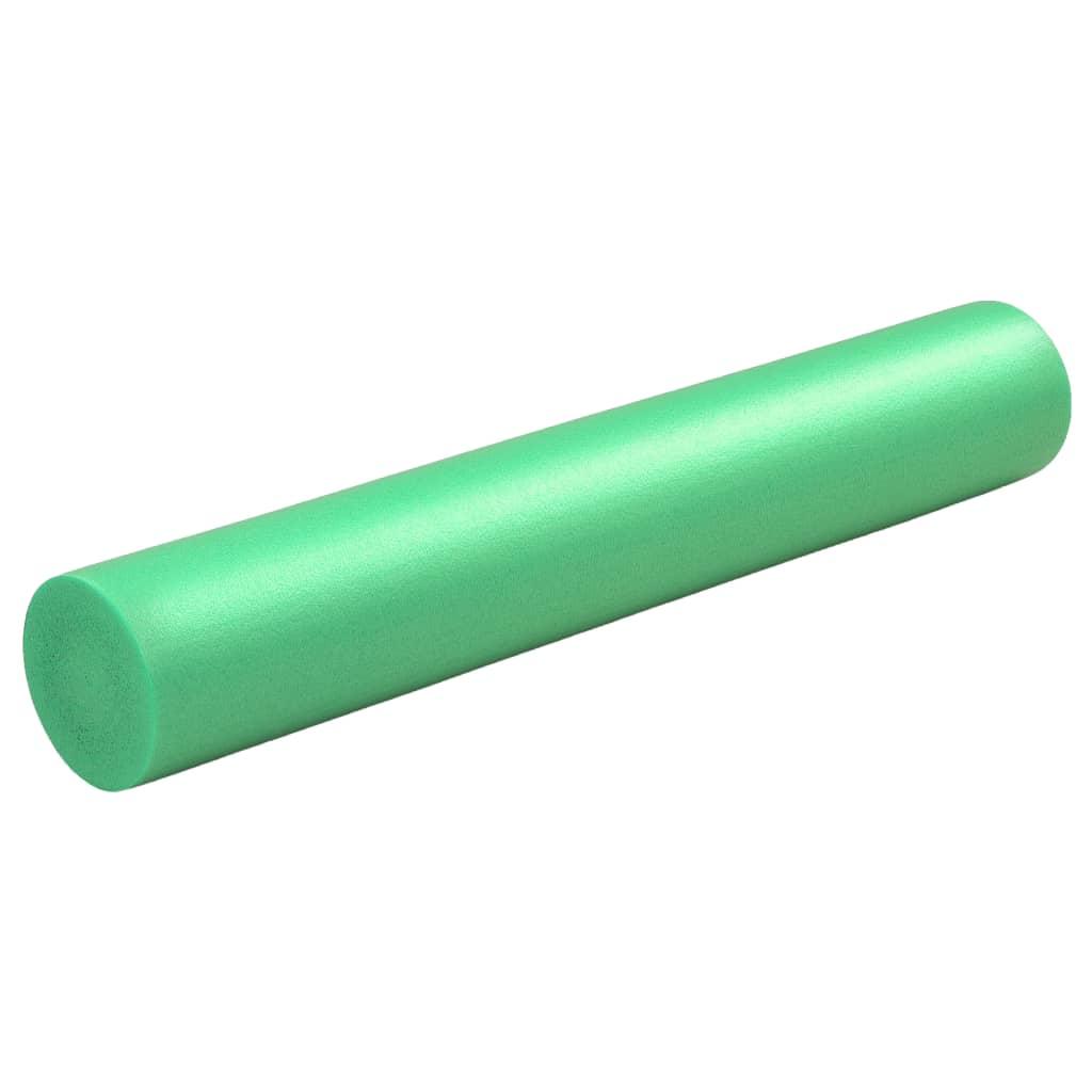 vidaXL Jóga válec pěnový 15 x 90 cm EPE zelený
