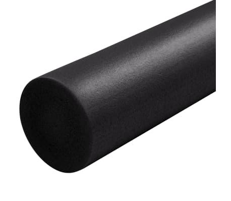 vidaXL Rodillo de yoga EPE negro 15x90 cm[4/4]