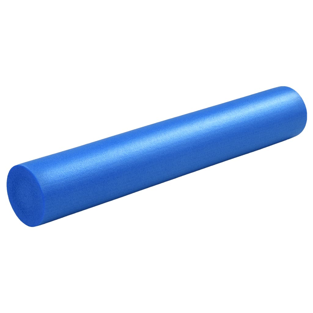 vidaXL Jóga válec pěnový 15 x 90 cm EPE modrý