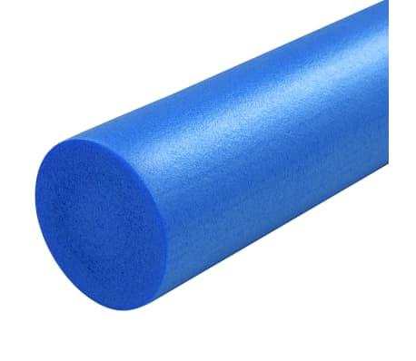vidaXL Yogaschuimrol 15x90 cm EPP blauw[4/4]