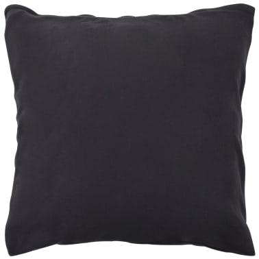 vidaXL Set husă pilotă, 2 piese, antracit, 155 x 220/80 x 80 cm fleece[3/4]