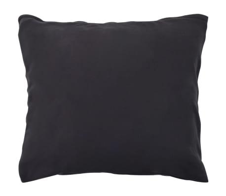 vidaXL Set husă pilotă, 3 piese, antracit, 200x200/60x70, fleece[3/4]