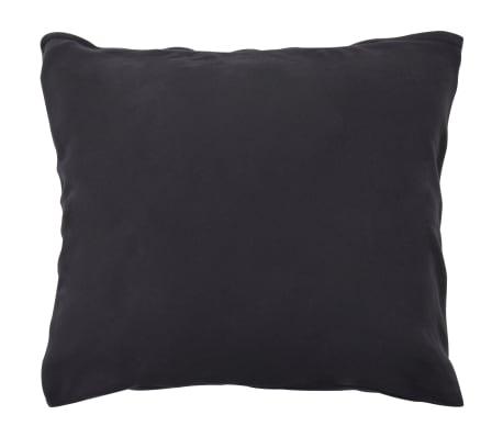 vidaXL Set husă pilotă, 3 piese, antracit, 240 x 220/60 x 70, fleece[3/4]