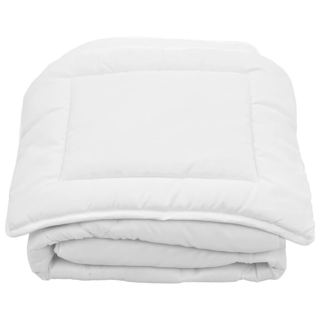 2-tlg. Kinder-Bettwäsche-Set Sommer Weiß 120×150 / 40×60 cm