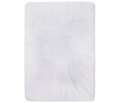 vidaXL Bäddset sommar 2-delat för barn vit 100x135 cm/40x60 cm[4/8]