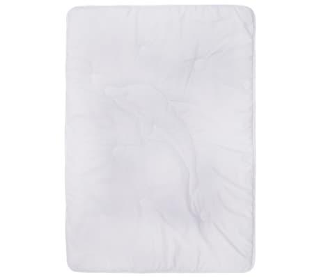 vidaXL Bäddset vinter 2-delat för barn vit 120x150 cm/40x60 cm[4/8]