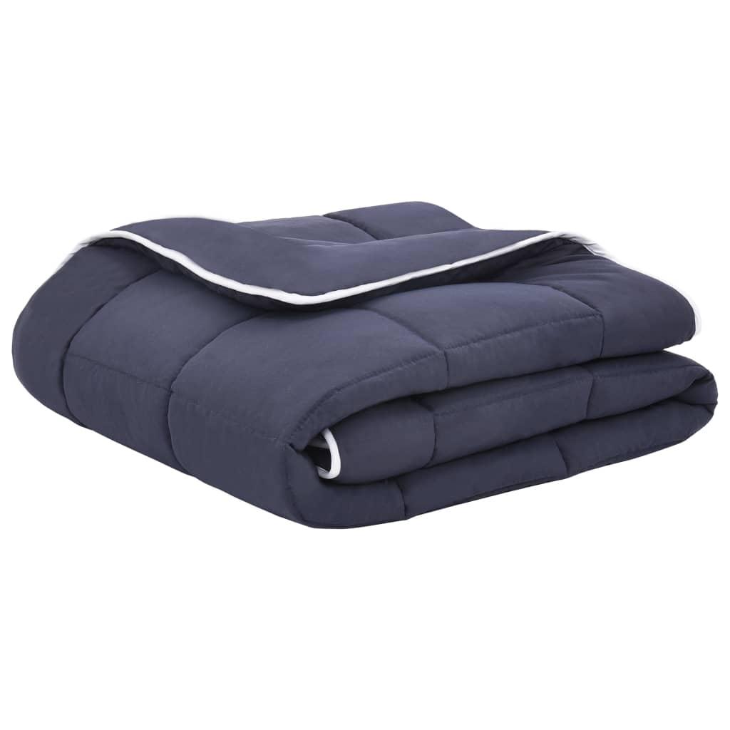 VidaXL 3 delige Winterdekbedset 200x200 80x80 cm stof antraciet
