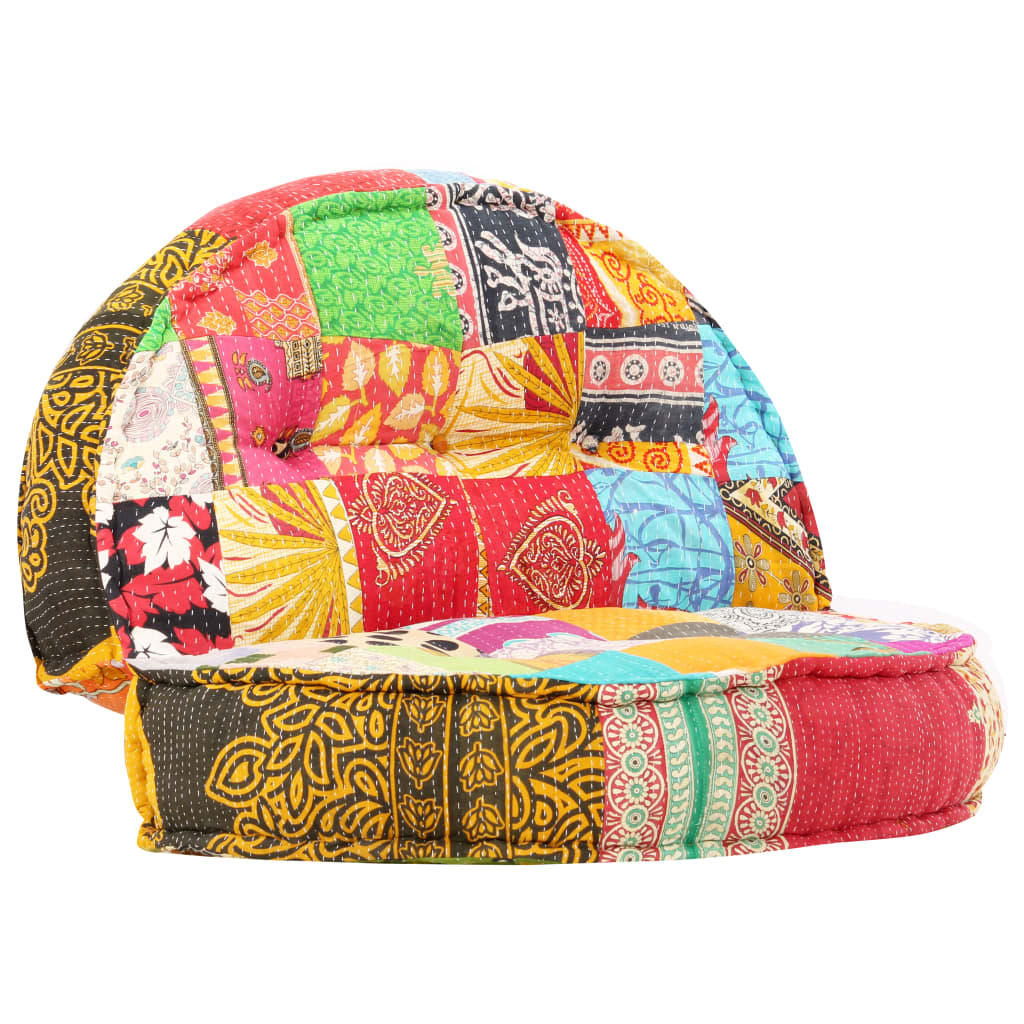 vidaXL Sofa, 120x20 cm, tkanina, patchwork