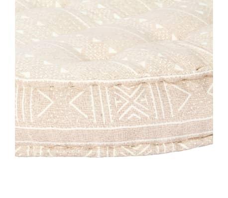 vidaXL Pohovka bledohnedá 120x20 cm látková[6/11]