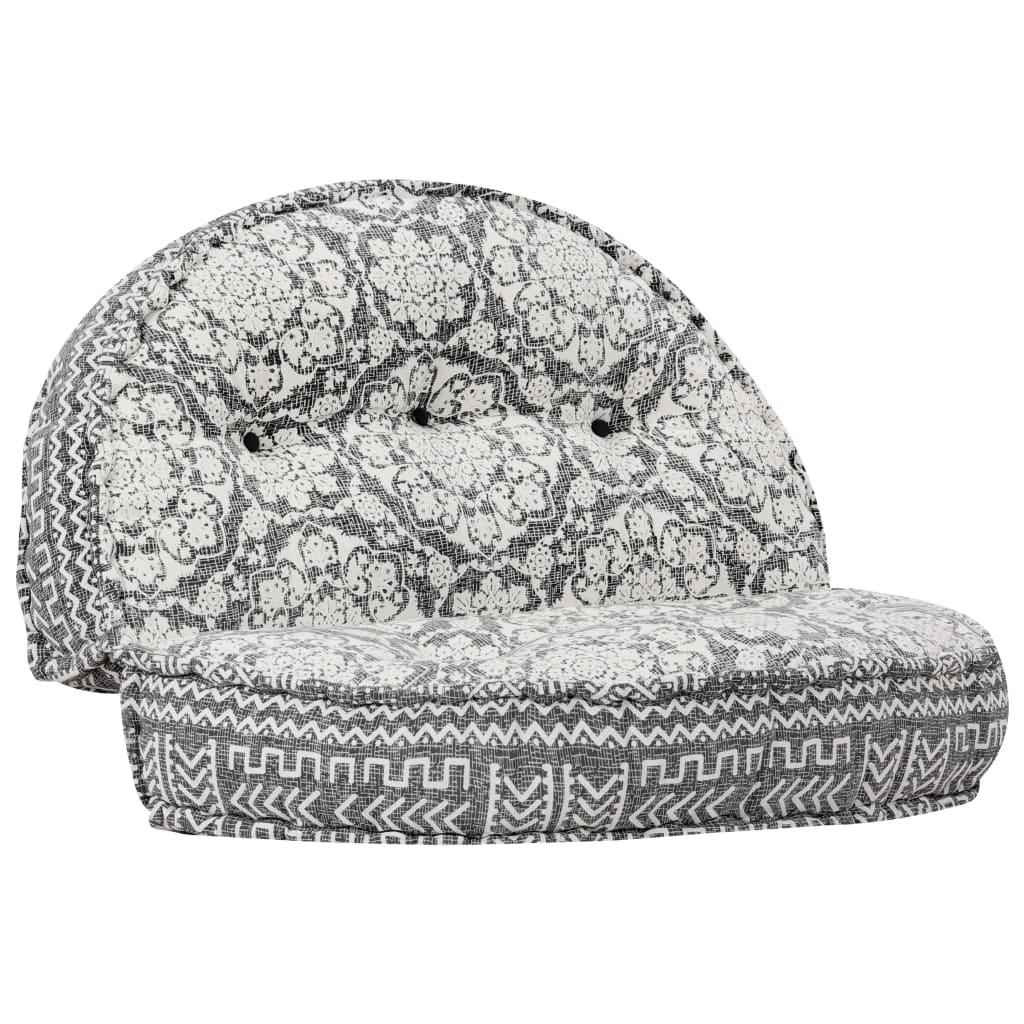 vidaXL Sofa, 120x20 cm, tkanina, jasnoszara