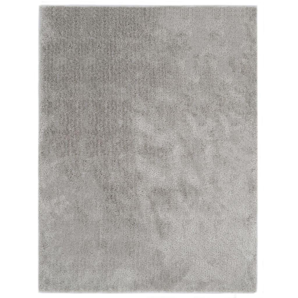 vidaXL Covor lățos, gri, 160 x 230 cm vidaxl.ro