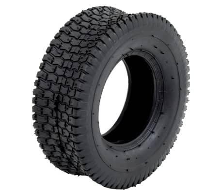 vidaXL Kruiwagenband 13x5.00-6 4PR rubber