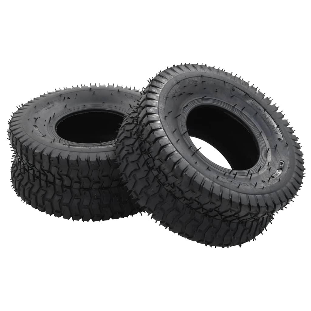 Pneumatiky pro kolečko 2 ks 15 x 6.00-6 4PR guma