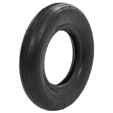 vidaXL Kruiwagenband 3.50-8 4PR rubber[1/5]
