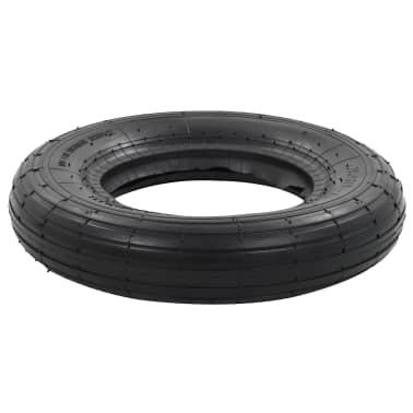 vidaXL Kruiwagenband 3.50-8 4PR rubber[3/5]