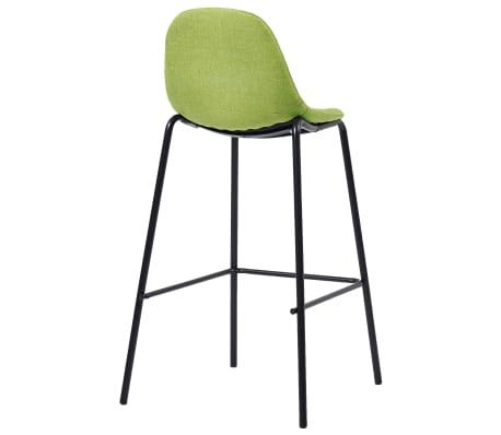 Détails sur vidaXL 2x Chaises de Bar Vert Tissu Tabouret Fauteuil Siège Bistrot Comptoir