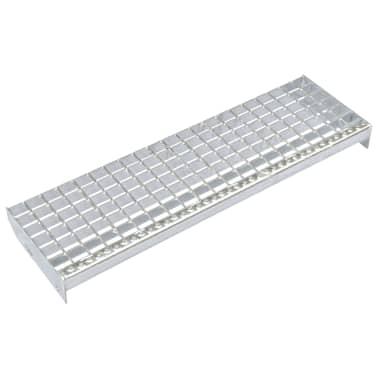 vidaXL Traptreden 4 st 700x240 mm gesmeedlast gegalvaniseerd staal[1/4]