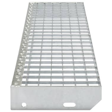vidaXL Laiptų pakopos, 4vnt., 700x240mm, galvan. plienas, presuotos[3/4]
