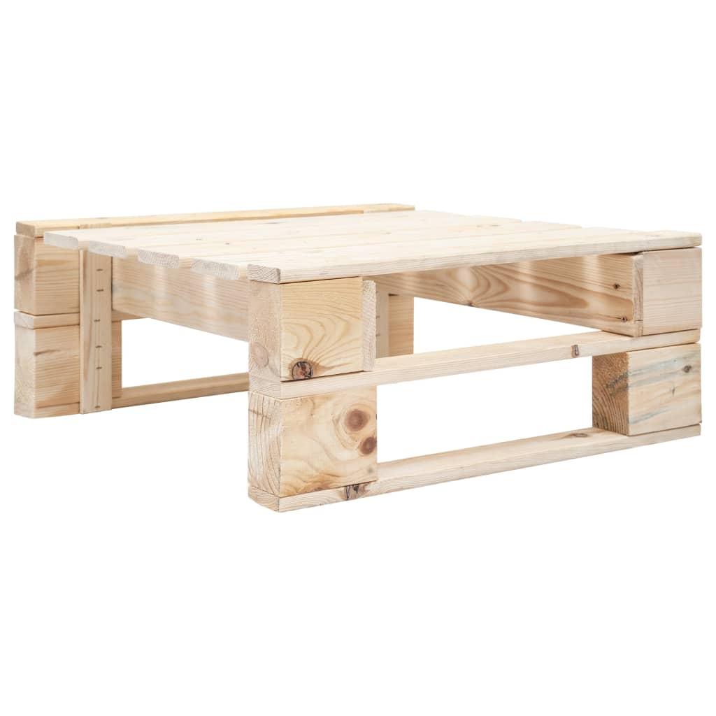 vidaXL Zahradní taburet z palet dřevo