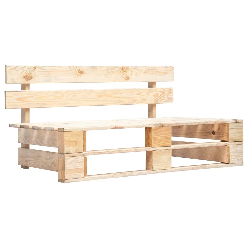 Banc D Entrée En Palette banc palette de jardin bois fsc - 45768