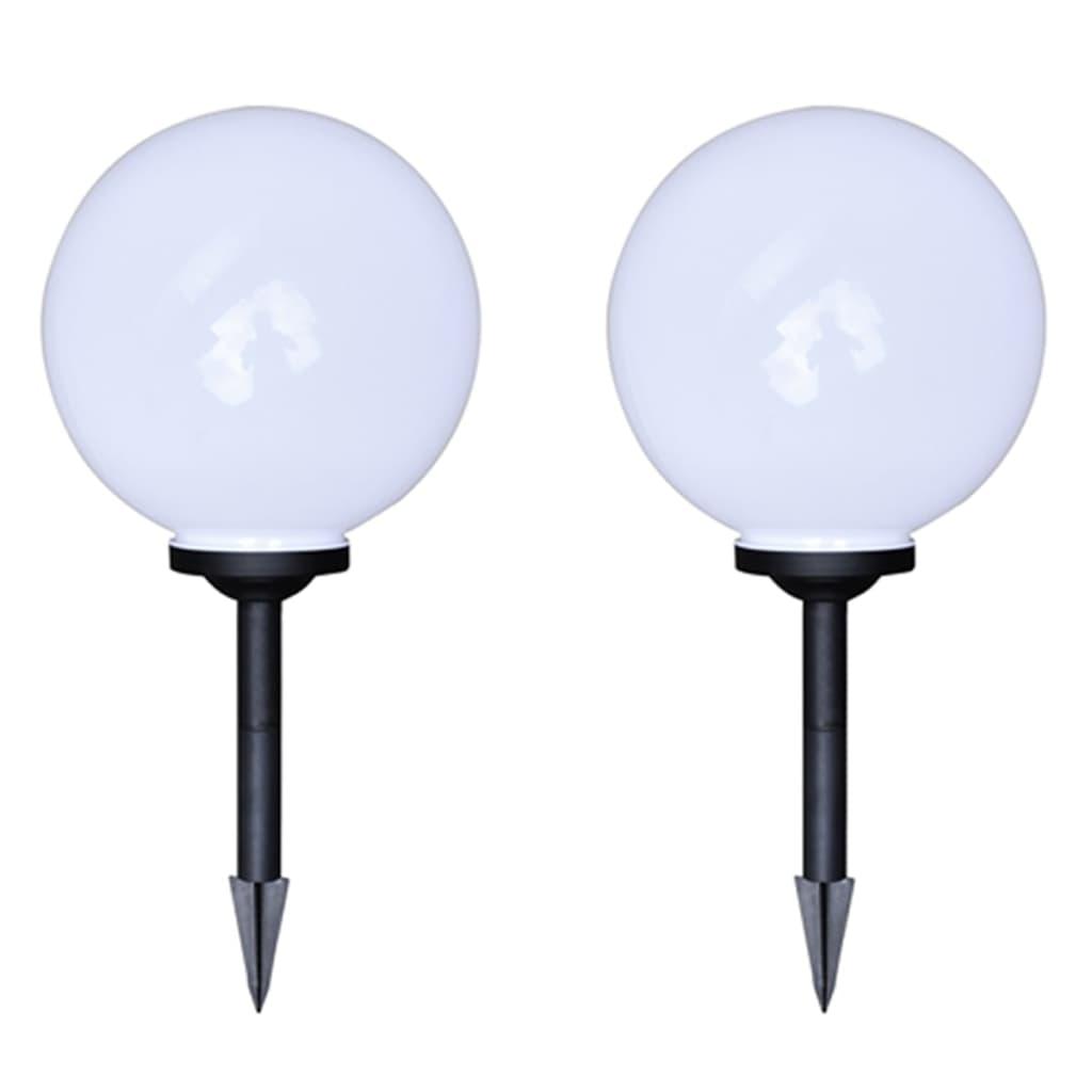 Comwinkel Tuinpadlampen 4 st met grondpin LED 30 cm