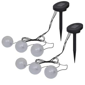 Shop vidaXL Flytende lamper 6 stk LED for dam og basseng