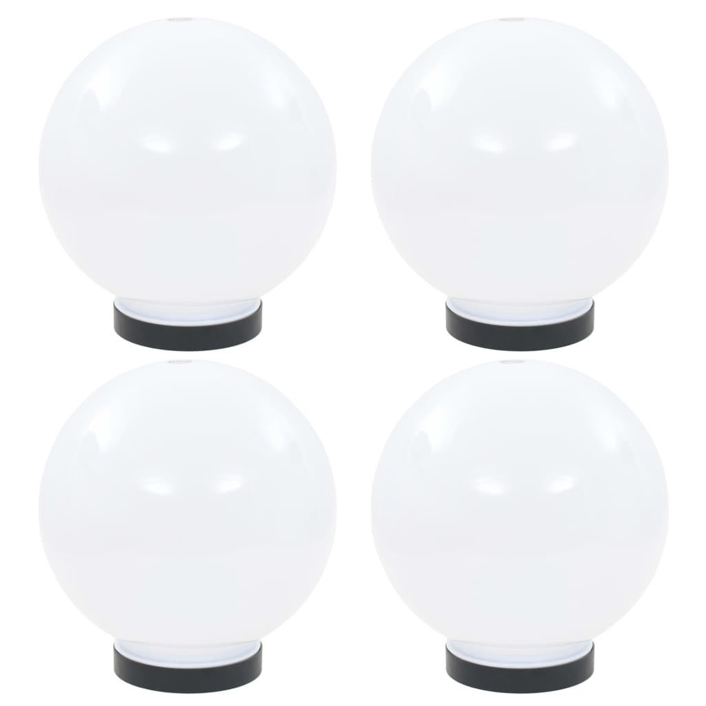 vidaXL Φωτιστικά Μπάλα LED 4 τεμ. Σφαιρικά 20 εκ. Ακρυλικά (PMMA)