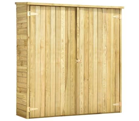 vidaXL Tuinschuur 163x50x171 cm geïmpregneerd grenenhout