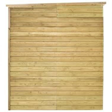 vidaXL Záhradný domček / kôlňa 315x159x178 cm impregnovaná borovica[5/9]