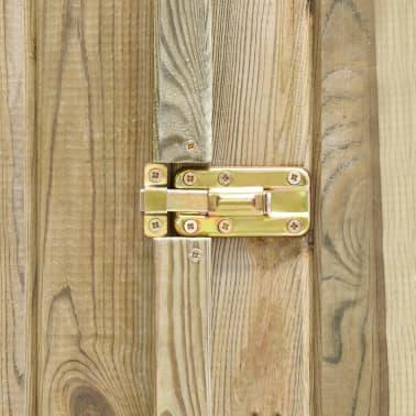vidaXL Záhradný domček / kôlňa 315x159x178 cm impregnovaná borovica[6/9]