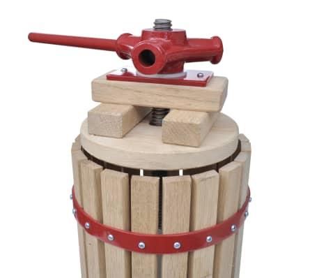 vidaXL Preša in drobilnik za sadje in vino 2-delni komplet[4/11]