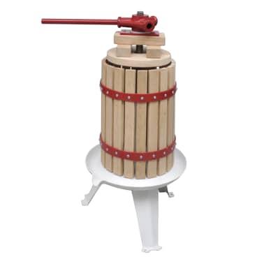 vidaXL Preša in drobilnik za sadje in vino 2-delni komplet[2/11]