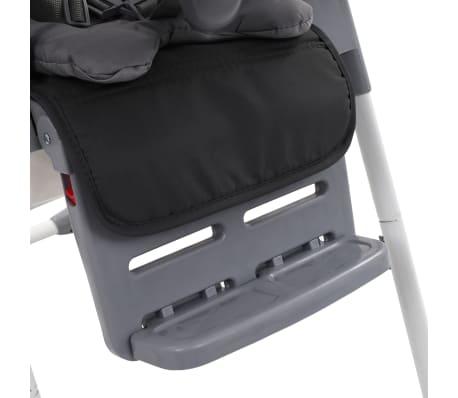 vidaXL Chaise haute pour bébé Gris[10/12]