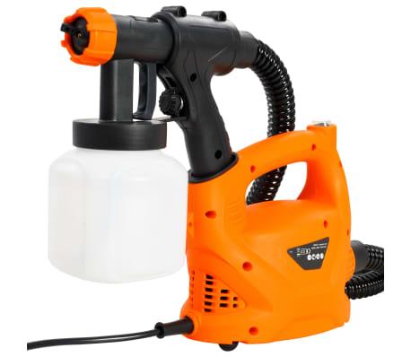 vidaXL Elektrisk färgsspruta med luftslang 500 W 800 ml