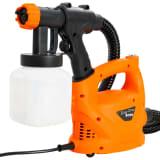 vidaXL Pistola de pintura eléctrica con manguera de aire 500 W 800 ml