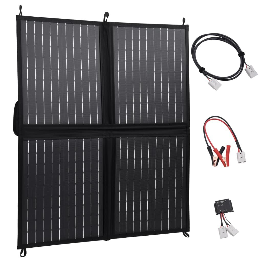vidaXL Skládací solární nabíječka 80 W 12 V