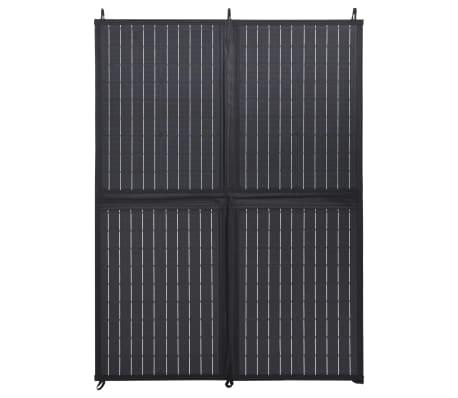 vidaXL Sulankstomos saulės energijos plokštės įkroviklis, 100W, 12V[3/10]