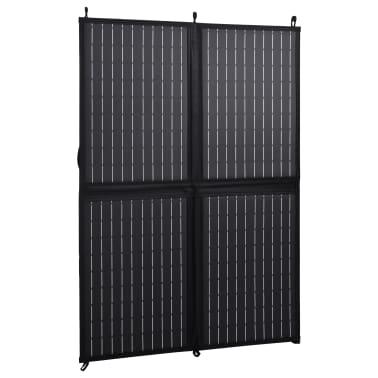 vidaXL Sulankstomos saulės energijos plokštės įkroviklis, 100W, 12V[2/10]