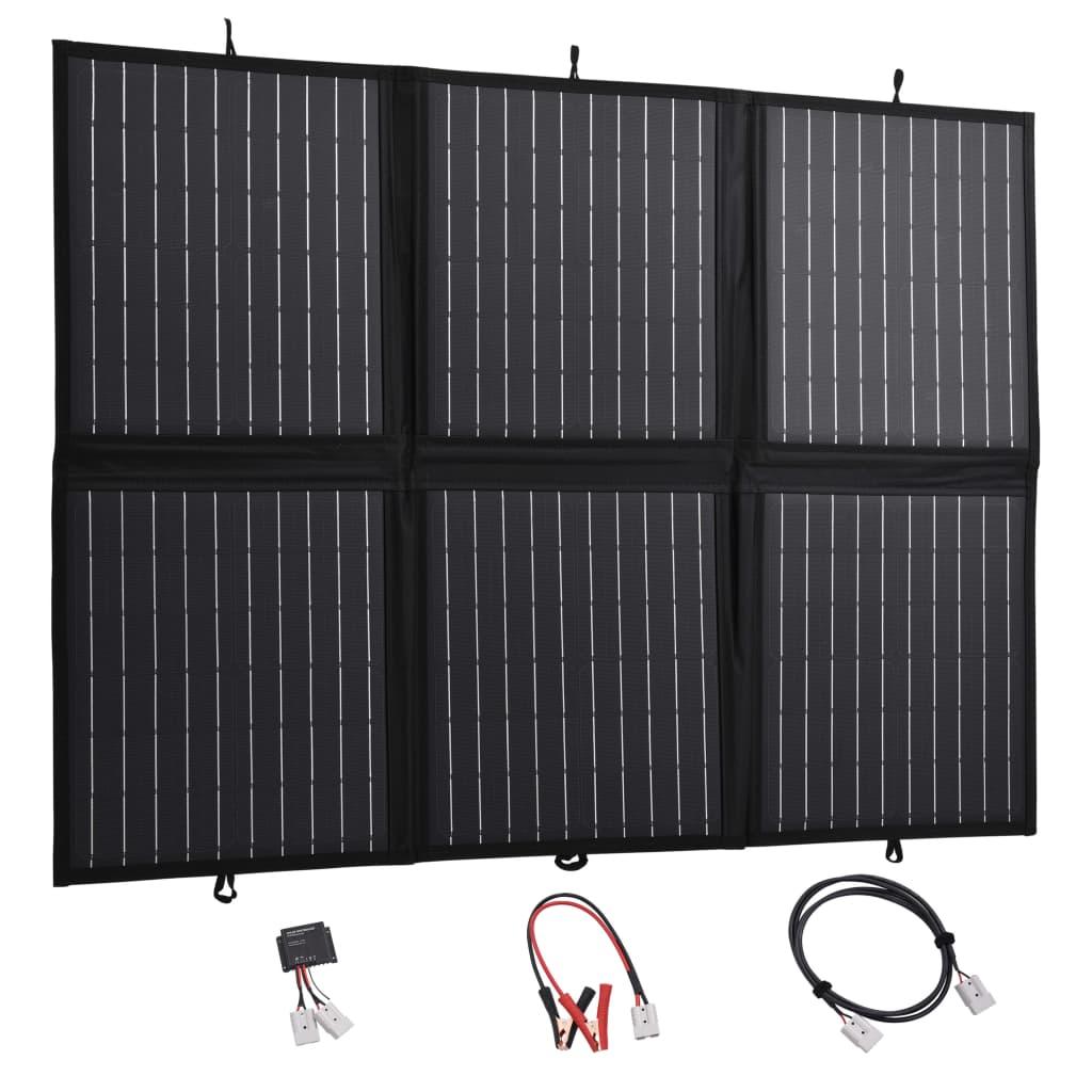 vidaXL Încărcător panou solar pliabil 120 W 12 V poza vidaxl.ro